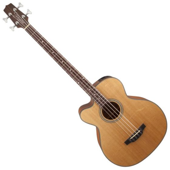 Takamine GB30CELH-NAT G-Series Left Handed Acoustic Electric Bass in Natural Finish TAKGB30CELHNAT