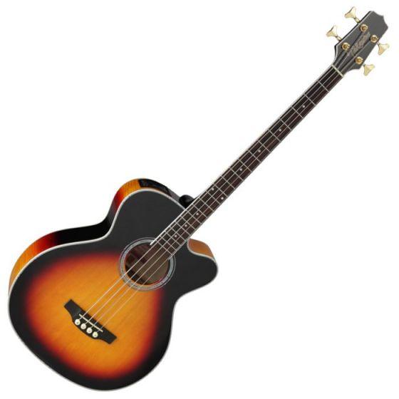 Takamine GB72CE-BSB G-Series Acoustic Electric Bass in Brown Sunburst Finish TAKGB72CEBSB