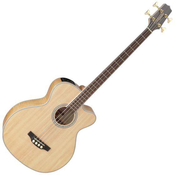 Takamine GB72CE-NAT G-Series Acoustic Electric Bass in Natural Finish TAKGB72CENAT