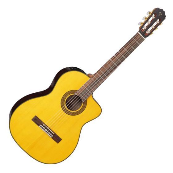 Takamine GC5CE-NAT G-Series Acoustic Electric Classical Guitar in Natural Finish TAKGC5CENAT