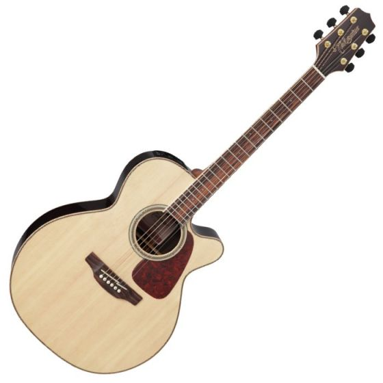 Takamine GN93CE-NAT G-Series G90 Cutaway Acoustic Electric Guitar in Natural Finish TAKGN93CENAT