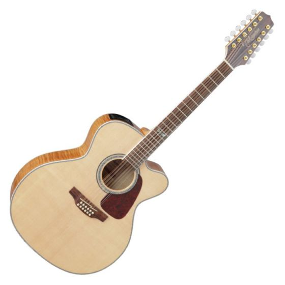 Takamine GJ72CE-NAT G-Series G70 Cutaway Acoustic Electric Guitar in Natural Finish TAKGJ72CENAT