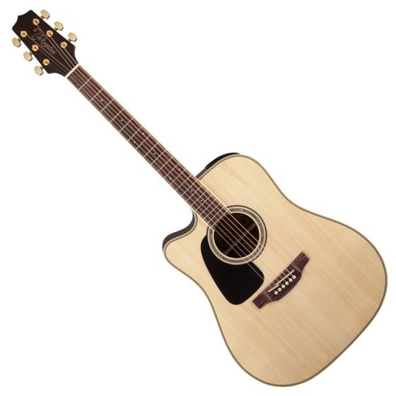 Takamine GD51CELH-NAT G-Series G50 Cutaway Left Handed Acoustic Electric Guitar in Natural Finish TAKGD51CELHNAT