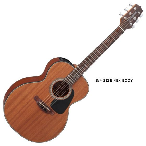 Takamine GX11ME-NS G-Series Mini Acoustic Guitar in Natural Finish TAKGX11MENS