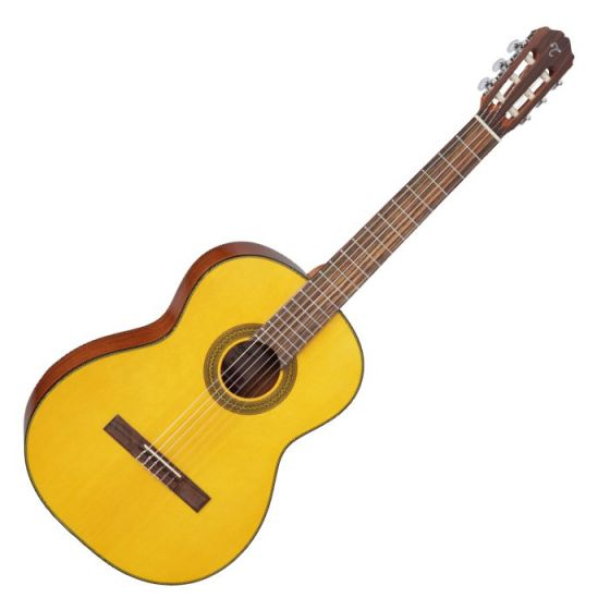 Takamine GC1-NAT Left Handed G-Series Classical Guitar in Natural Finish TAKGC1LHNAT