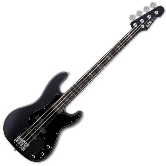 ESP LTD FB-4 Frank Bello Electric Bass in Black Satin sku number LFB4BLKS