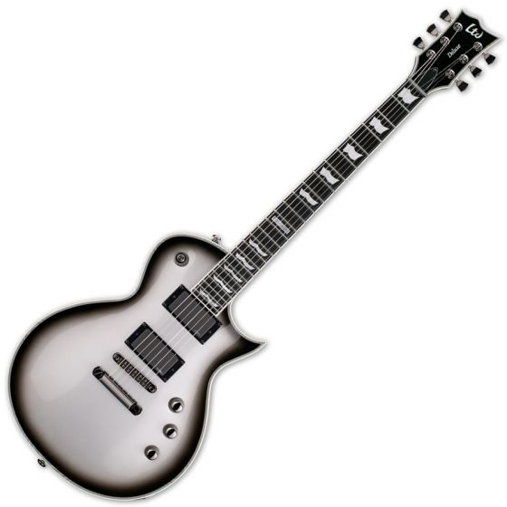 ESP LTD Deluxe EC-1000 Electric Guitar in Silver Sunburst sku number LEC1000SSB