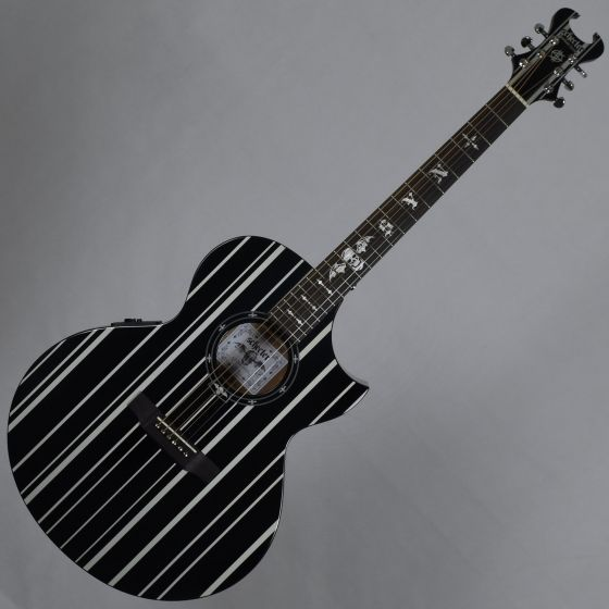 Schecter Signature Synyster Gates SYN AC-GA SC Acoustic Guitar in Gloss Black Finish SCHECTER3700