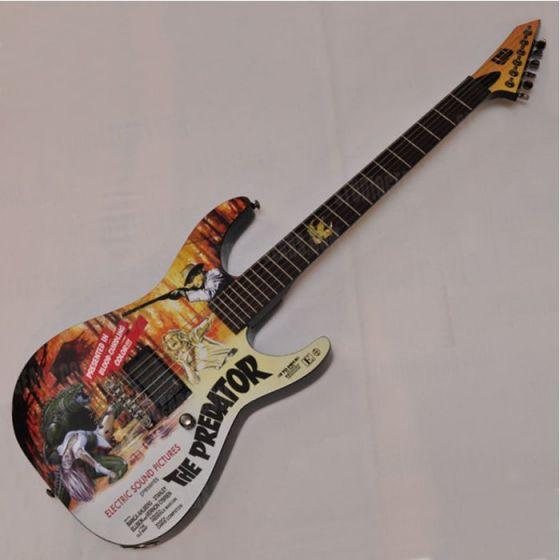 ESP LTD Predator Limited Horror Series Electric Guitar with case sku number LMPREDATOR