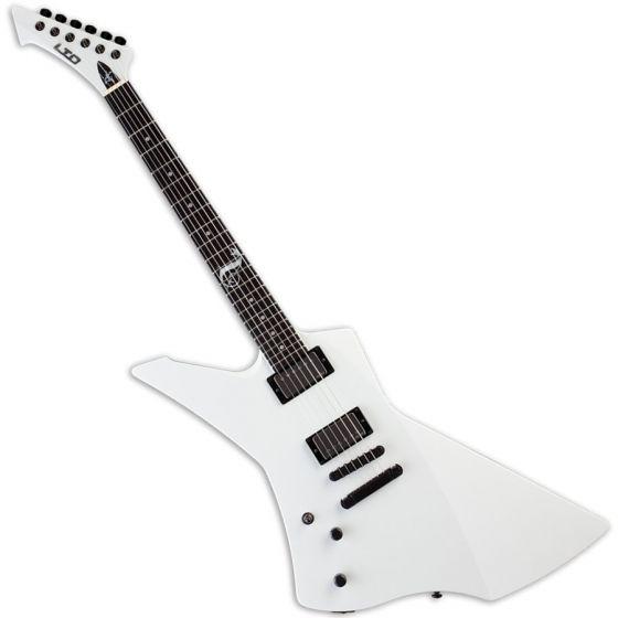 ESP LTD James Hetfield Snakebyte Left Handed Electric Guitar in Snow White LSNAKEBYTESWLH