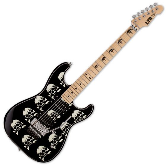 ESP LTD MW-SKULL Michael Wilton Signature Electric Guitar sku number LMWSKULL