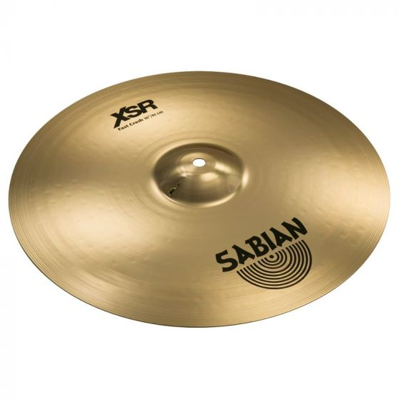 Sabian 16 Inch XSR Fast Crash Cymbal - XSR1607B XSR1607B