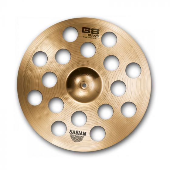 Sabian 18 Inch B8 Pro  O-Zone Crash Cymbal - 31800B 31800B