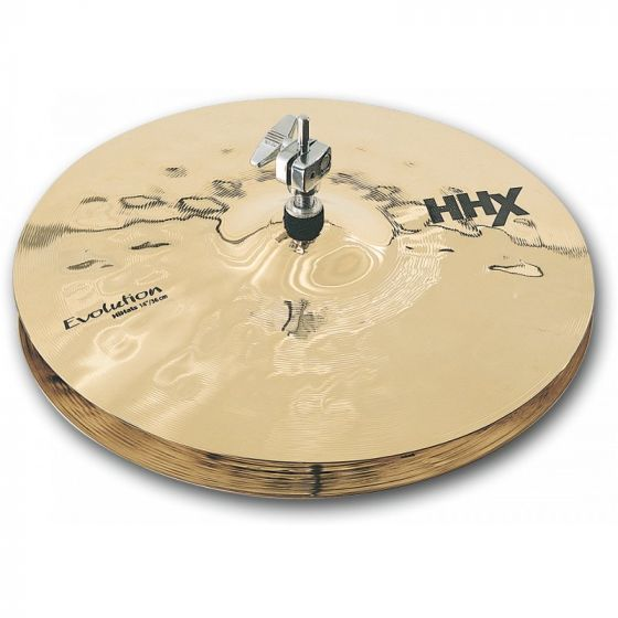 Sabian HHX Evolution Series Hi Hats 14 Inches - 11402XEB 11402XEB