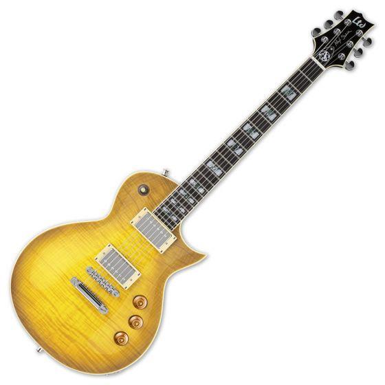ESP LTD Alex Skolnick AS-1 FM Lemon Burst Signature Electric Guitar sku number LAS1FMLB
