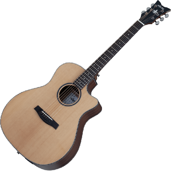Schecter Orleans Studio Acoustic Guitar in Natural Satin Finish SCHECTER3712