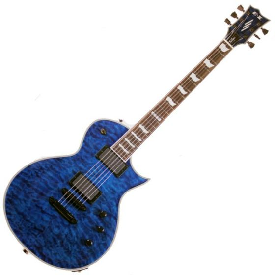 ESP E-II Eclipse QM MARBL Quilted Maple Electric Guitar sku number EIIECQMMARBL