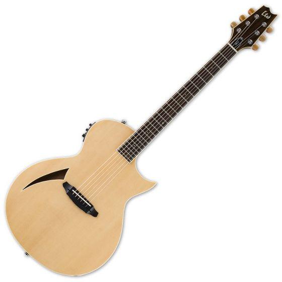 ESP LTD TL-6S Steel String Acoustic Electric Guitar in Natural Finish sku number LTL6NAT