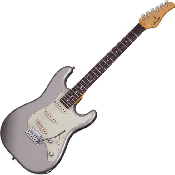Schecter Nick Johnston TRAD Electric Guitar in Atomic Silver SCHECTER288