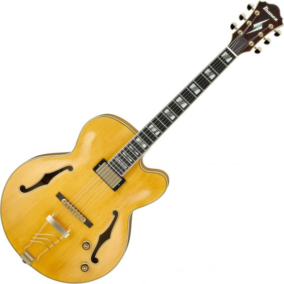 Ibanez Signature Pat Metheny PM2 Hollow Body Electric Guitar Antique Amber PM2AA