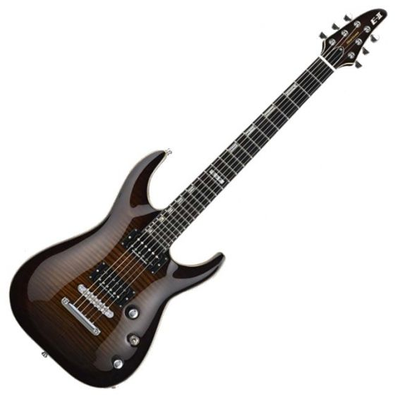 ESP E-II Horizon FM NT DBSB Dark Brown Sun Burst Electric Guitar EIIHORFMNTDBSB