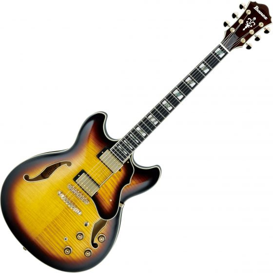 Ibanez Artstar AS153 Hollow Body Electric Guitar Antique Yellow Sunburst AS153AYS