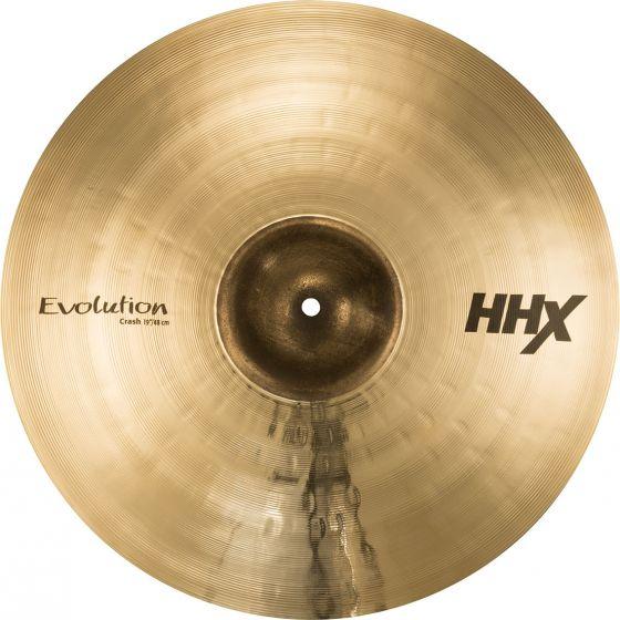 "Sabian 19"" HHX Evolution Crash Brilliant Finish 11906XEB"