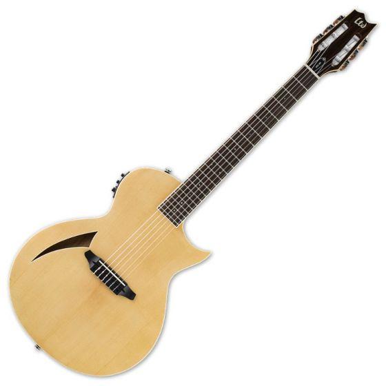 ESP LTD TL-6N Nylon String Acoustic Electric Guitar in Natural Finish B-Stock LTL6NNAT.B
