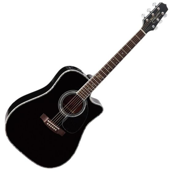 Takamine Signature Series SW341SC Steve Wariner Acoustic Guitar Gloss Black B-Stock TAKSW341SC.B