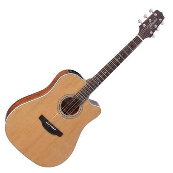 Takamine GD20CE-NS G-Series G20 Cutaway Acoustic Electric Guitar Natural B-Stock TAKGD20CENS.B
