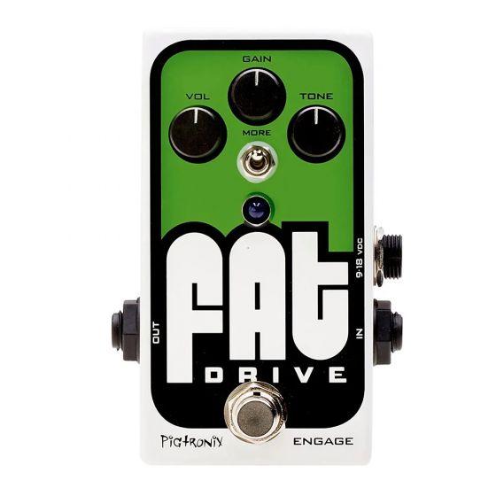 Pigtronix Fat Drive Overdrive Pedal FAT