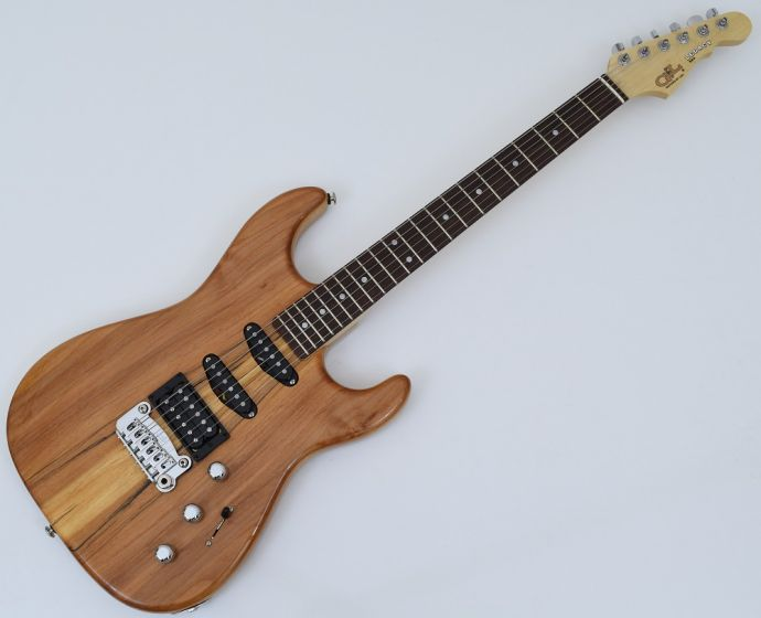 G&L USA Legacy Spalted Alder Top Electric Guitar in Natural Gloss Finish USA LGCYRMC-NAT-RW 9334