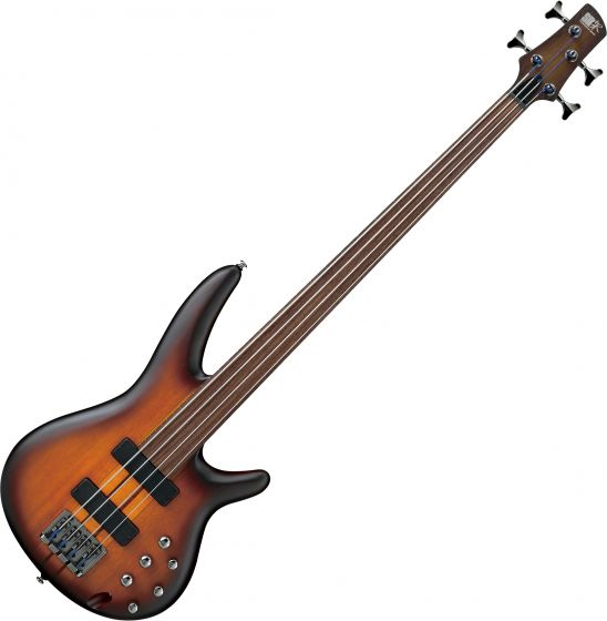 Ibanez SR Bass Workshop SRF700 Electric Bass Brown Burst Flat SRF700BBF