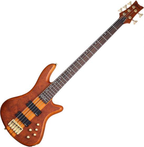 Schecter Stiletto Studio-5 Electric Bass Honey Satin SCHECTER2720