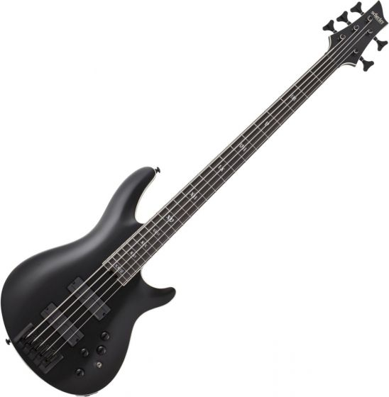 Schecter SLS ELITE-5 Evil Twin Electric Bass in Satin Black sku number SCHECTER1395
