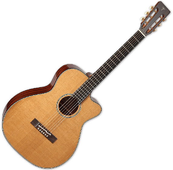 Takamine EF740FSTT Thermal Top Acoustic Guitar in Natural Finish B Stock sku number TAKEF740FSTT.B