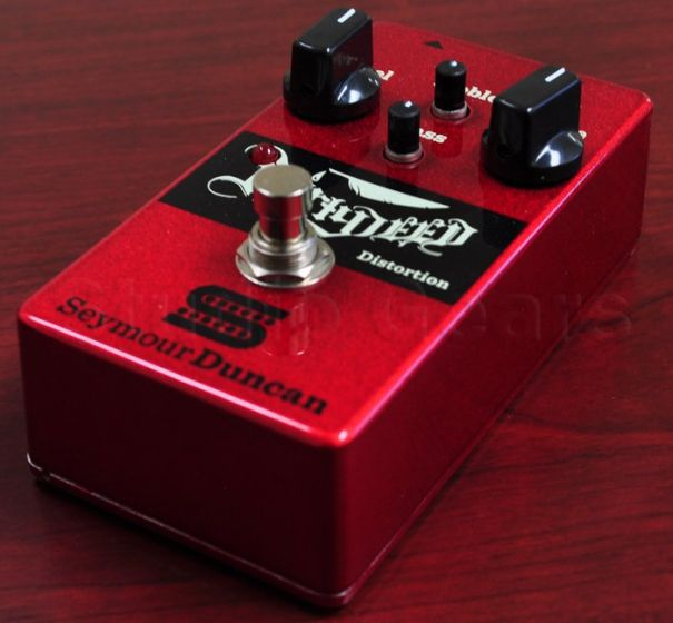 Seymour Duncan Dirty Deed Distortion/Overdrive Guitar Pedal 11900-001