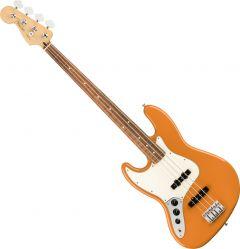 Fender Player Jazz Bass Electric Guitar Left-Handed Capri Orange 0149923582