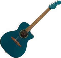 Fender Newporter Classic Acoustic Guitar Cosmic Turquoise 0970943299