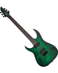 Schecter Keith Merrow KM-6 MK-III Standard Left-Handed Electric Guitar Toxic Smoke Green SCHECTER837