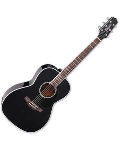 Takamine CP3NY BL New York Acoustic Electric Guitar Gloss Black TAKCP3NYBL