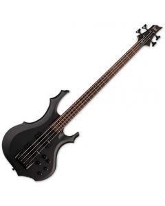 ESP LTD F-204 Electric Bass Black Satin LF204BLKS