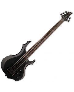 ESP LTD F-205 5 String Electric Bass Black Satin LF205BLKS