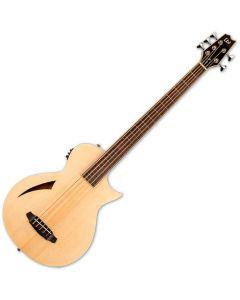 ESP LTD Thinline TL-5 5 String Semi Hollow Electric Bass Natural LTL5NAT