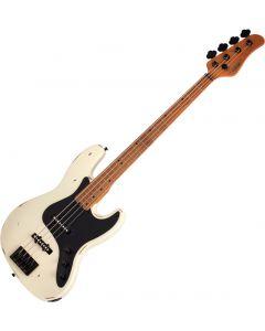 Schecter J-4 Sixx Electric Bass Worn Ivory SCHECTER355