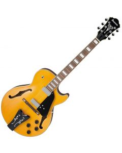 Ibanez George Benson GB10EM Signature Hollow Body Electric Guitar Antique Amber GB10EMAA