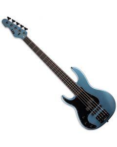 ESP LTD AP-5 5 String Left Handed Electric Bass Pelham Blue LAP5PBLH