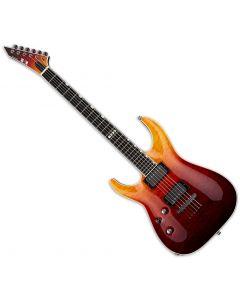 ESP E-II Horizon NT-II Tiger Eye Amber Fade Electric Guitar Left Hand EIIHORNTIITEAFDLH