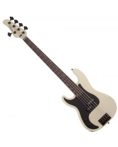 Schecter P-5 Left Hand Electric Bass in Ivory SCHECTER2925