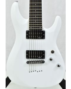 Schecter C-7 Deluxe Electric Guitar Satin White B-Stock SCHECTER438.B